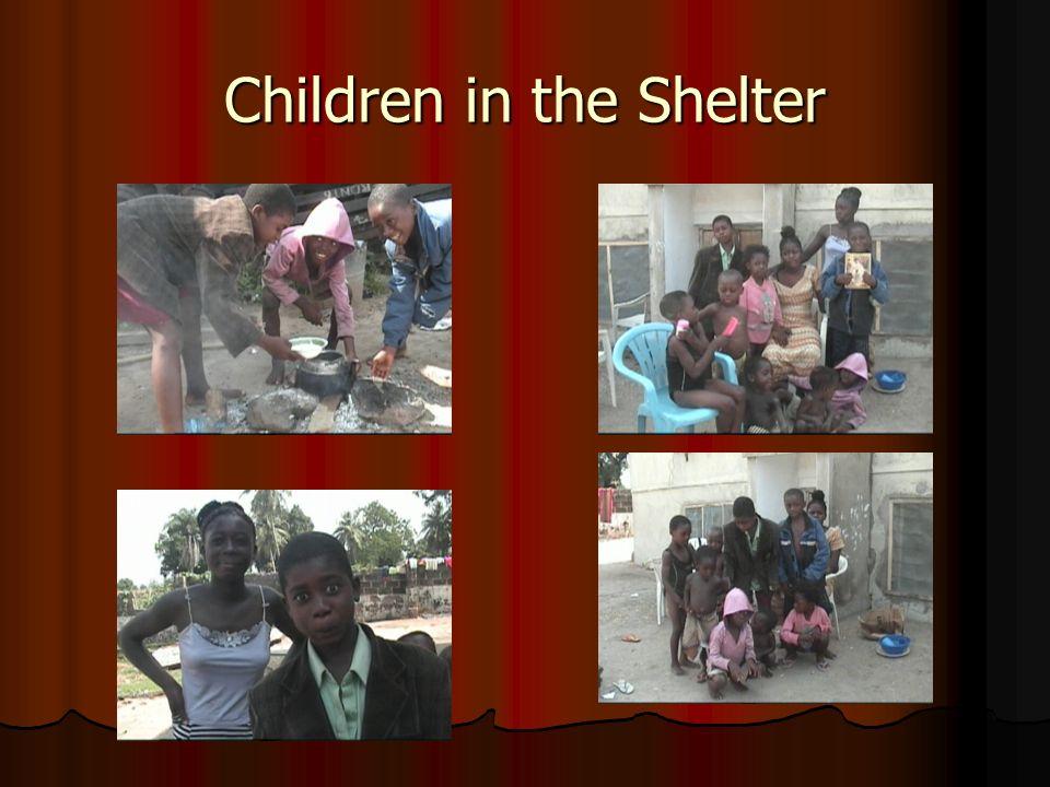 Children in the Shelter