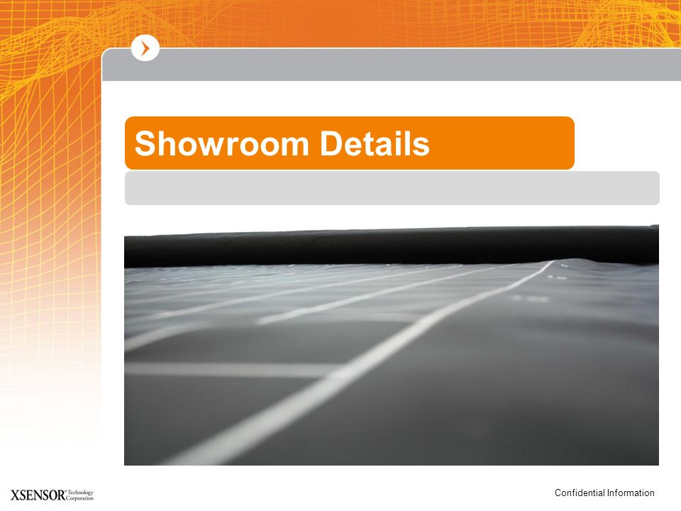 Confidential Information Showroom Details