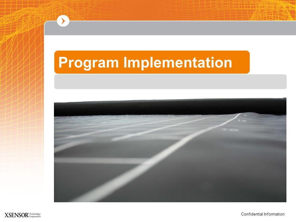 Confidential Information Program Implementation