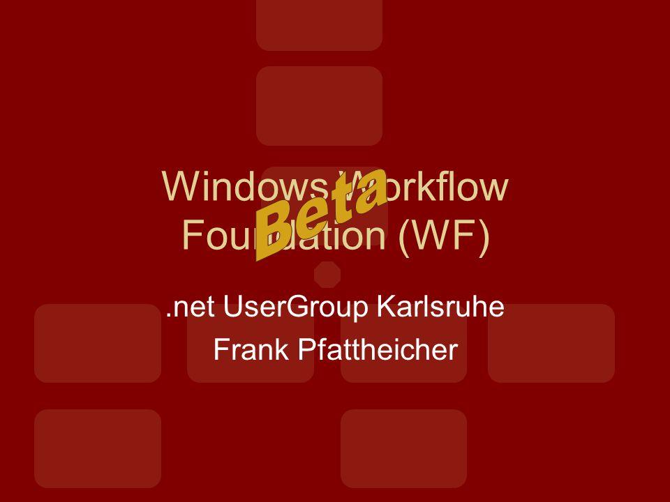 Was ist Workflow Foundation.