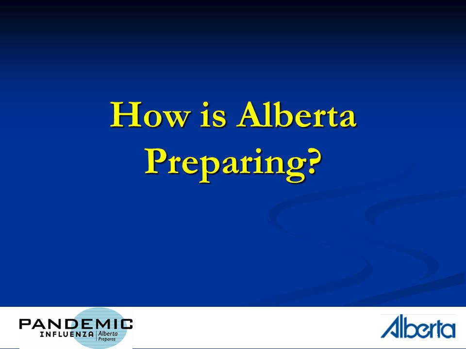 3 How is Alberta Preparing?