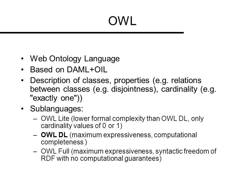 Description Logic - OWL Bacterium ODER Virus