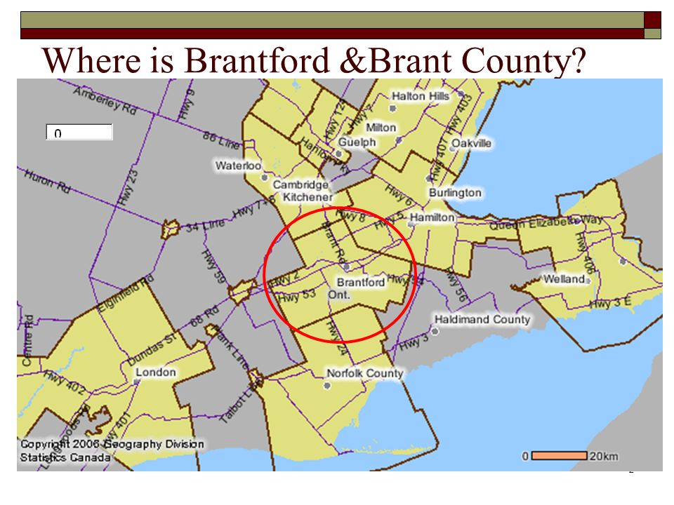2 Where is Brantford &Brant County