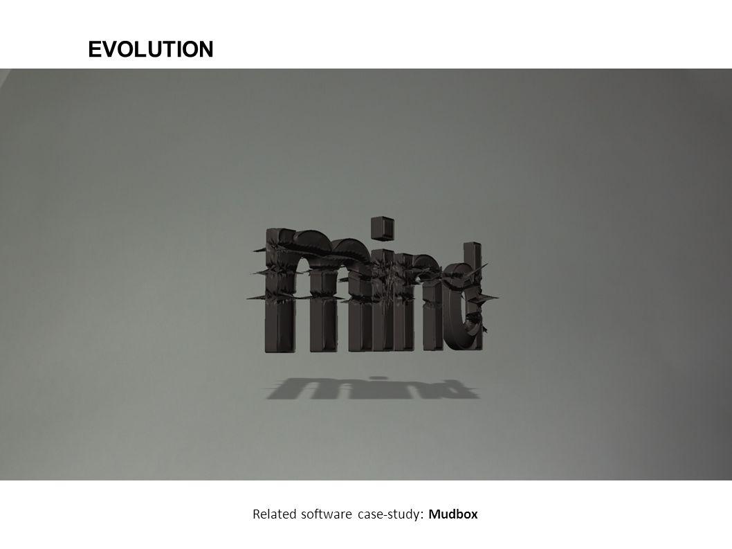 EVOLUTION Related software case-study: Mudbox