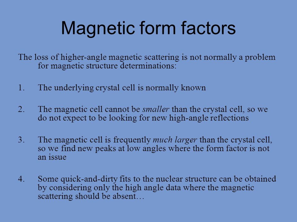 Magnetisation yields a more reliable estimate for the FM moment: 5.9±0.1 μ B.