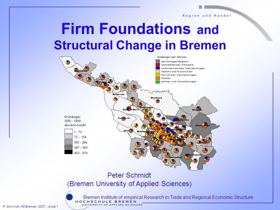 P. Schmidt, HS Bremen, 2007 - slide 12