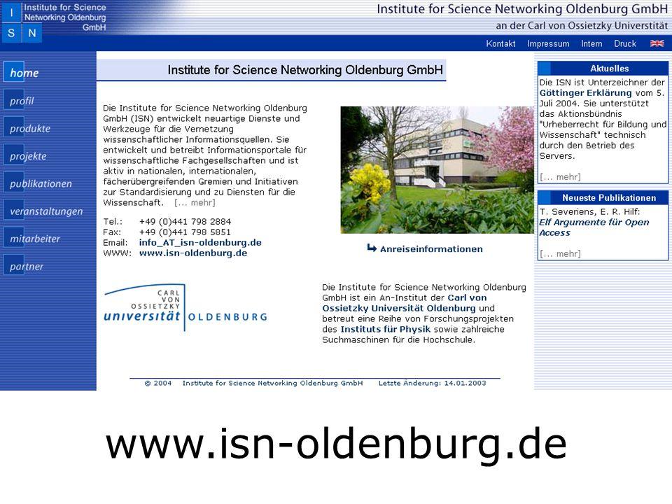 www.isn-oldenburg.de