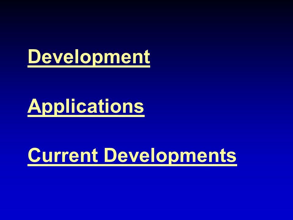 Development Applications Current Developments