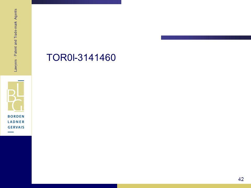 42 TOR0l-3141460