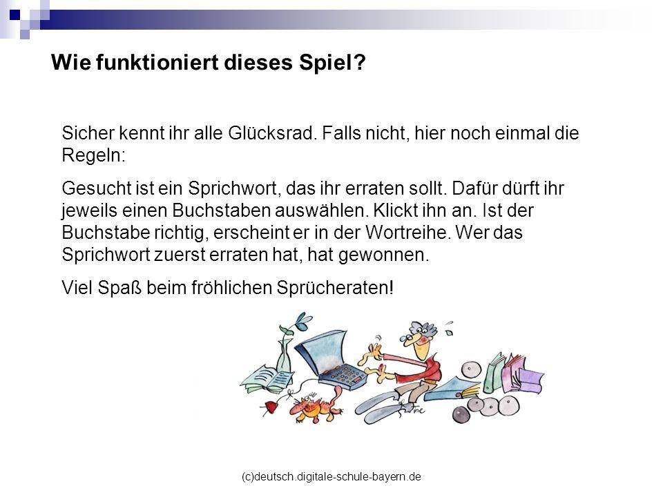 (c)deutsch.digitale-schule-bayern.de Glücksrad Ratespiel für jedermann