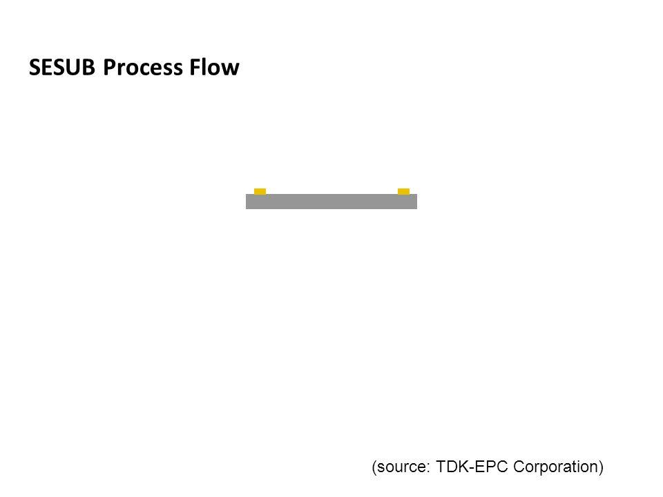 SESUB Process Flow Bumping Half Dicing Back Grinding (source: TDK-EPC Corporation)