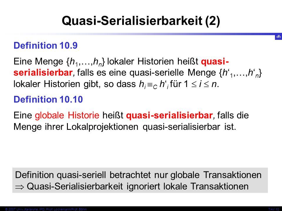 38 © 2007 Univ,Karlsruhe, IPD, Prof. Lockemann/Prof.