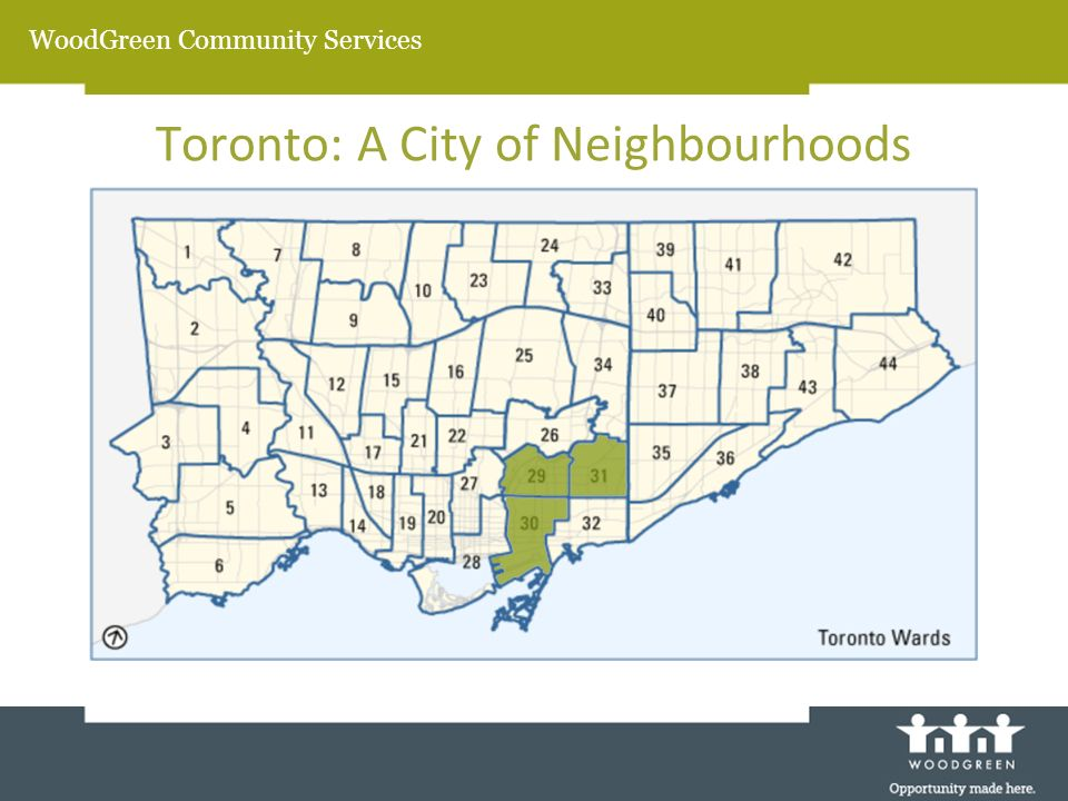 WoodGreen Community Services Toronto: A City of Neighbourhoods