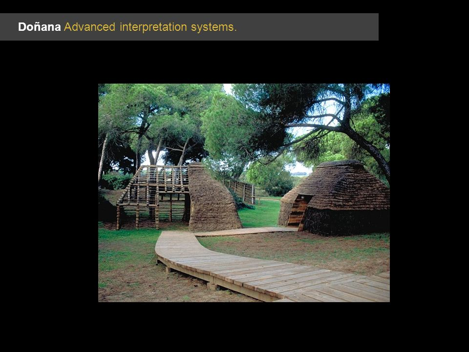 Doñana Advanced interpretation systems.