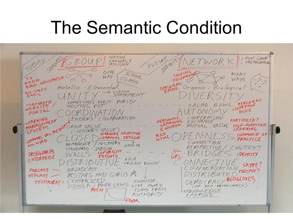 The Semantic Condition