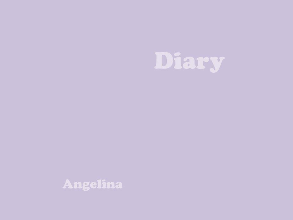 Diary Angelina