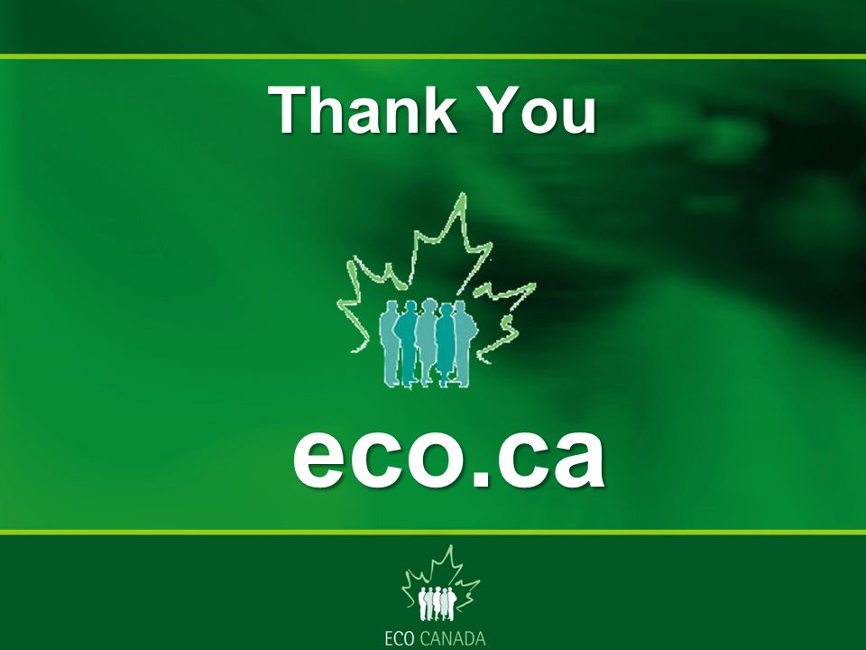 Thank You eco.ca