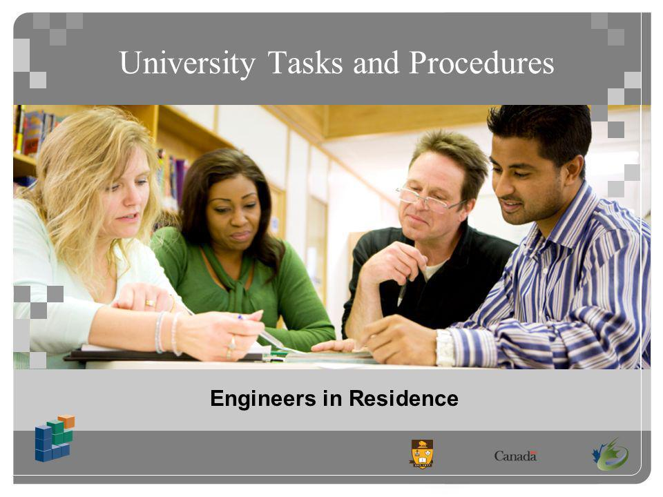 Engineers in Residence