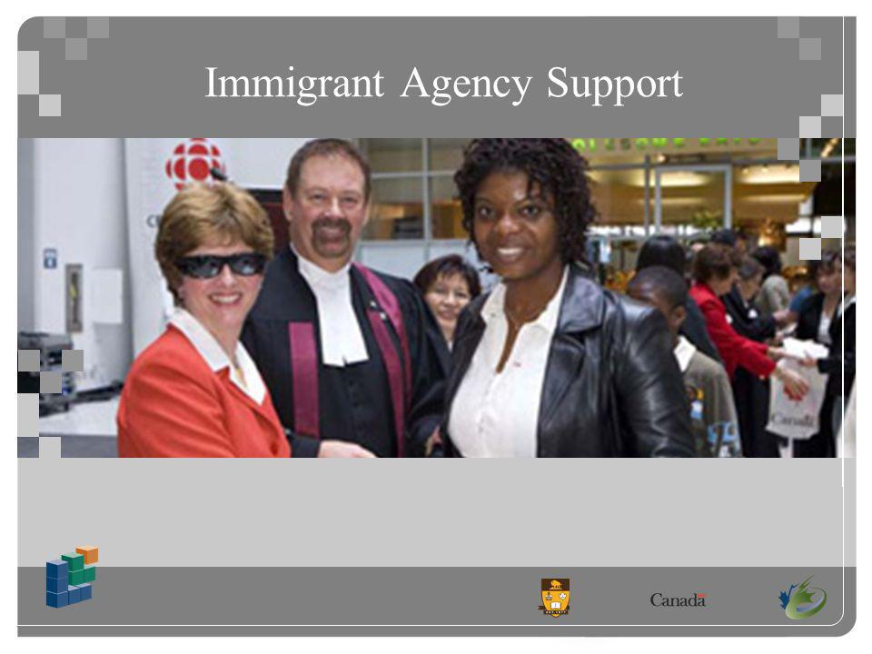 Immigrant Agency Support