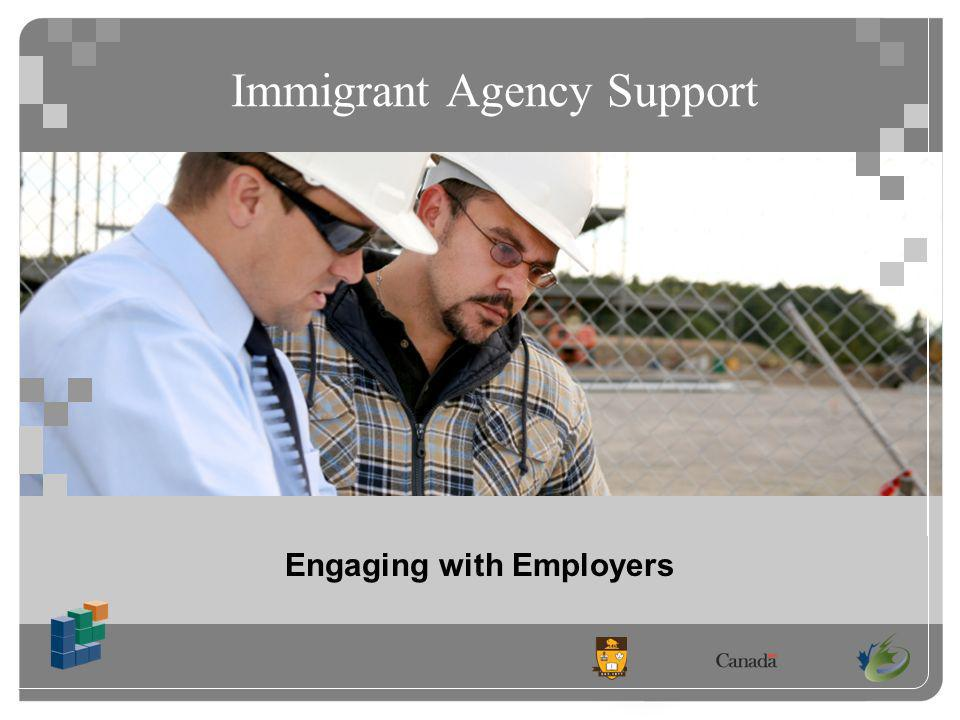 Immigrant Agency Support Engaging with Employers