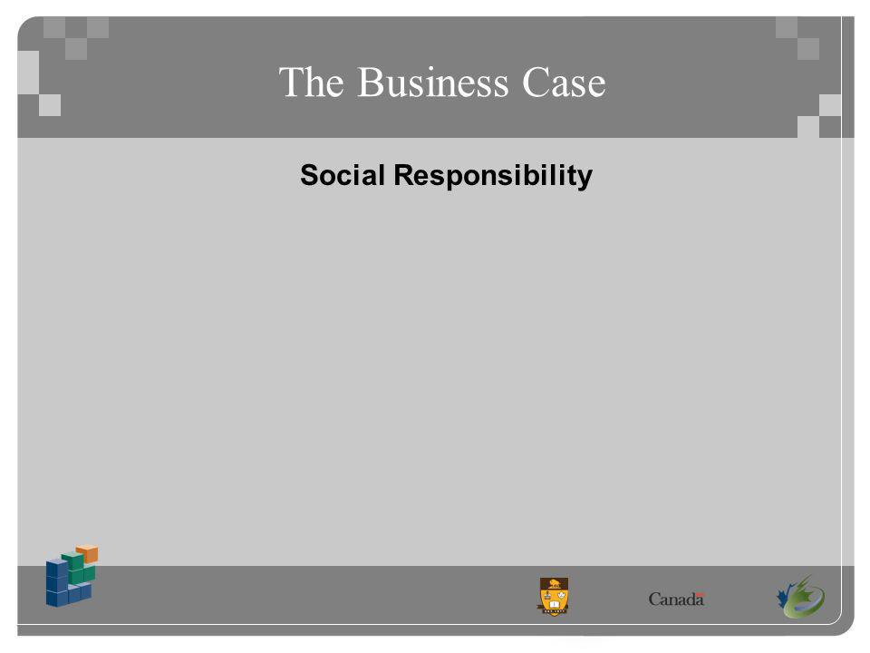 The Business Case Social Responsibility