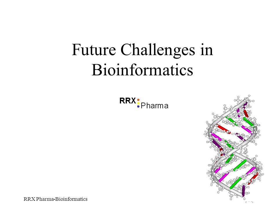 RRX Pharma-Bioinformatics Future Challenges in Bioinformatics
