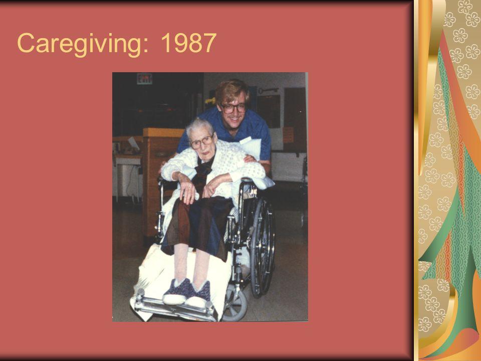 Caregiving: 1987