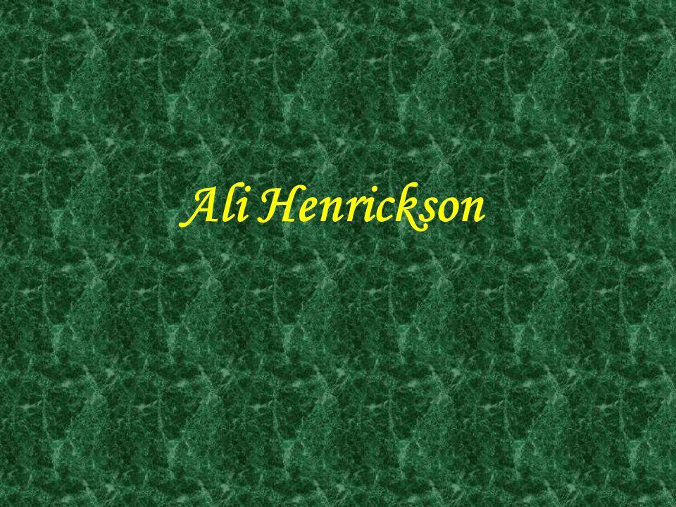 Ali Henrickson