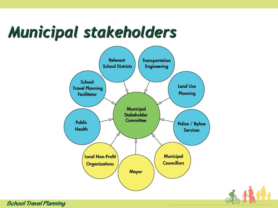 Municipal stakeholders