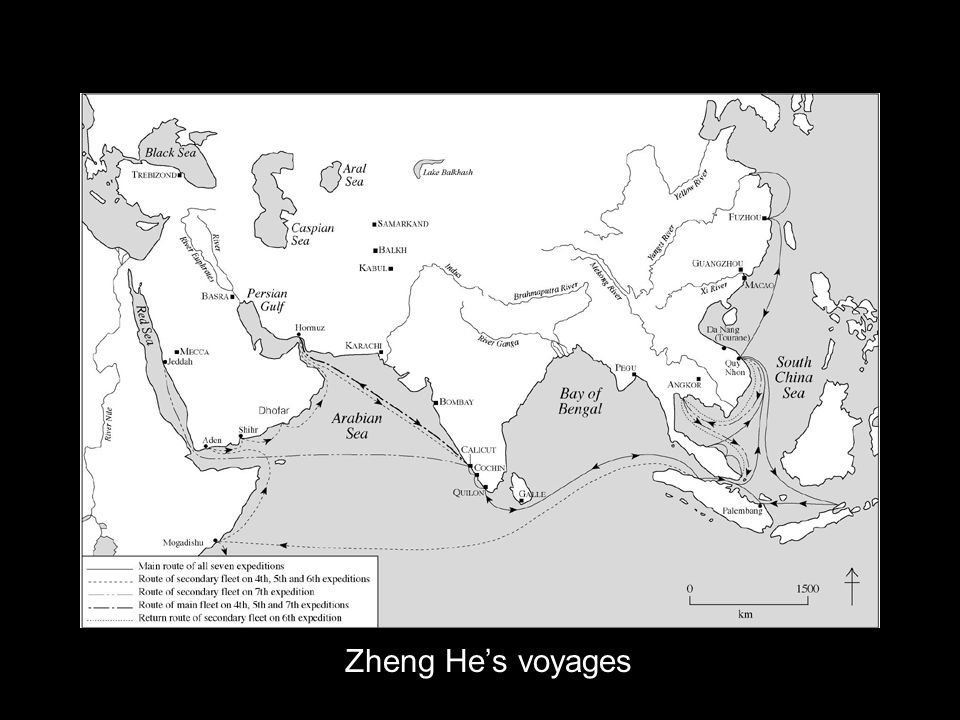 Zheng Hes voyages
