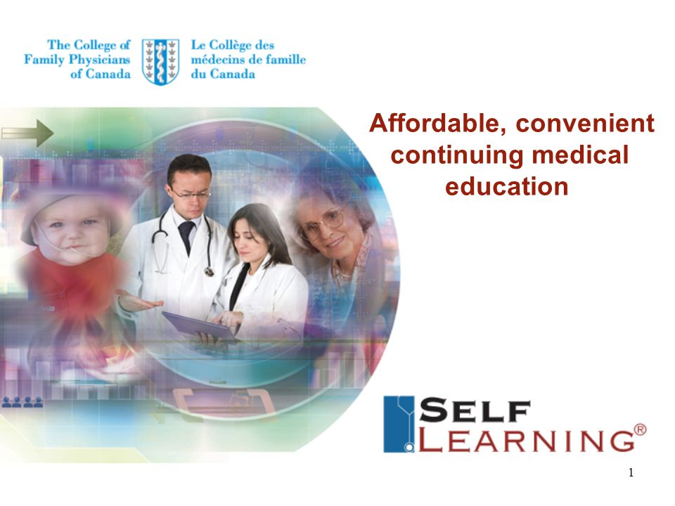 Affordable, convenient continuing medical education 1