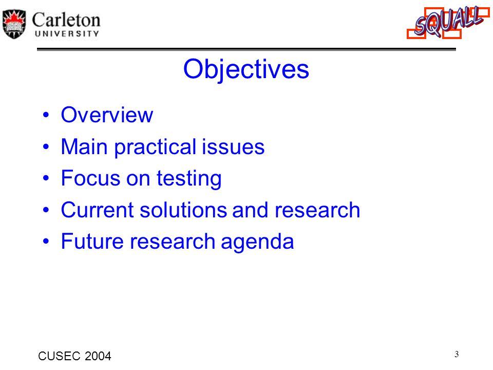 24 CUSEC 2004 Simulation Process 1