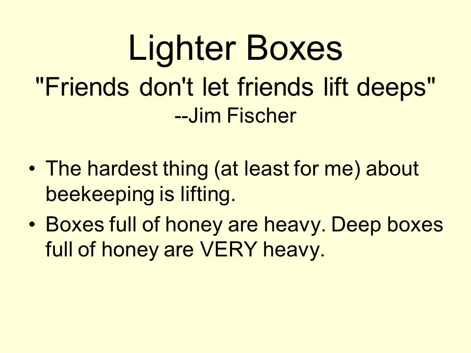 Lighter Boxes
