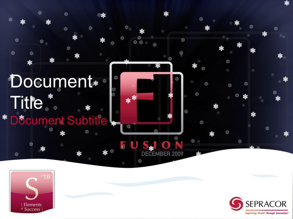 Document Title Document Subtitle