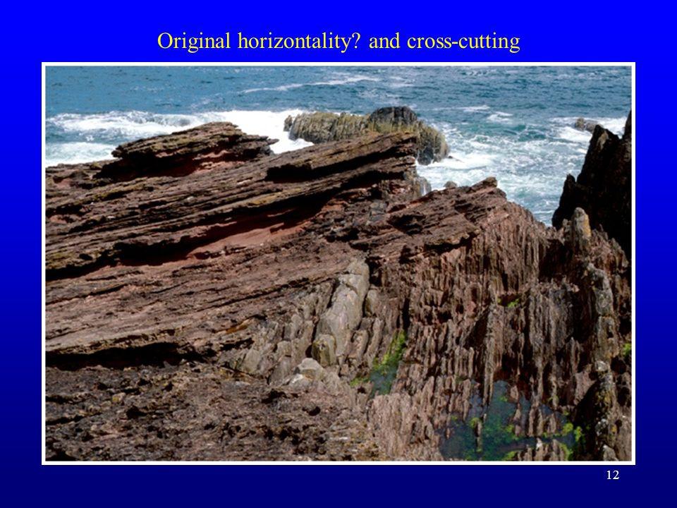 12 Original horizontality? and cross-cutting