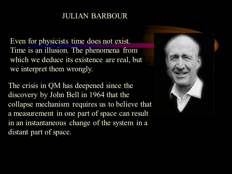 Even for physicists time does not exist. Time is an illusion.