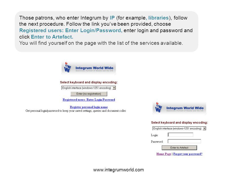 www.integrumworld.com Accounting documents