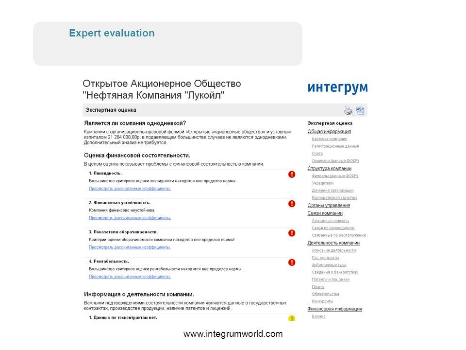 www.integrumworld.com Accounts and licenses