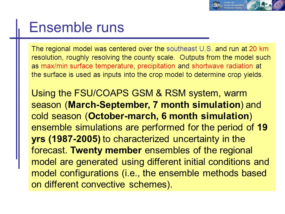 MINIMUM TEMPERATURE 19 year (1987-2005) ave ( o C) (model – obs) Ensemble Mean