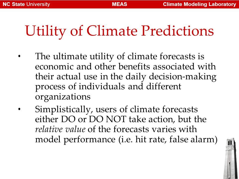 Climate Modeling LaboratoryMEASNC State University