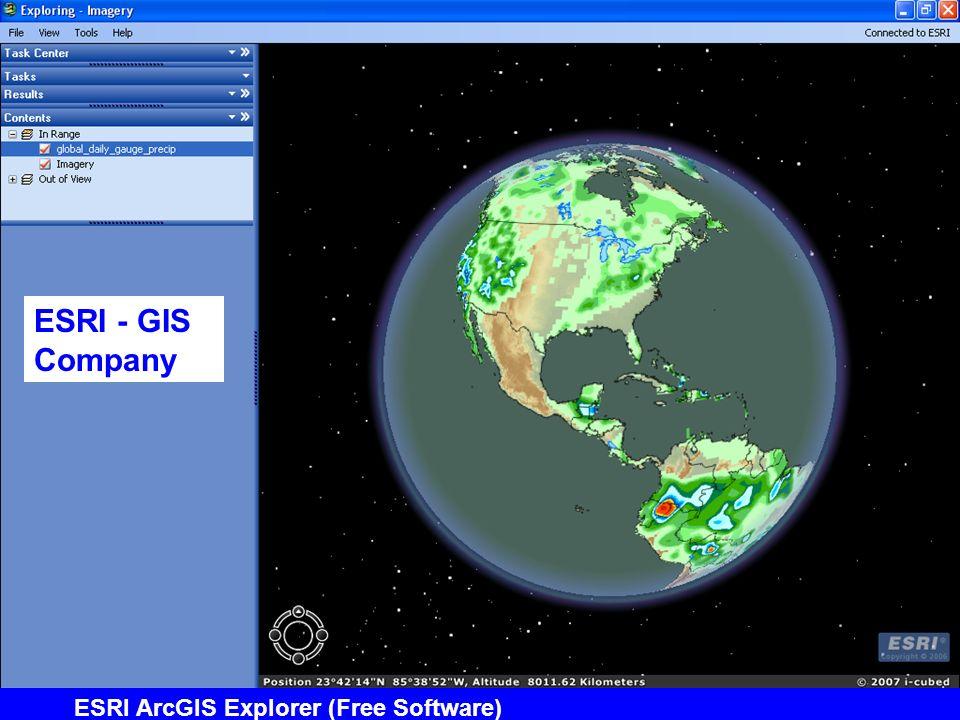 ESRI ArcGIS Explorer (Free Software) ESRI - GIS Company