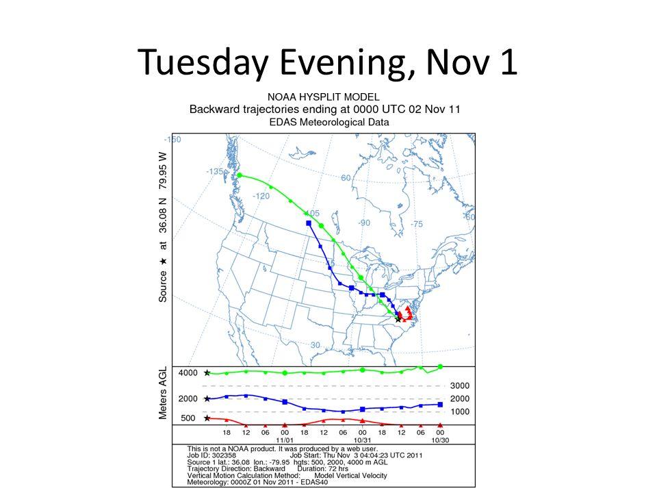 Nov 2 Snowstorm over Rockies