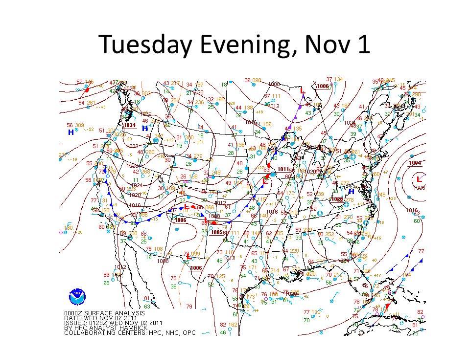 Wednesday Evening, Nov 2