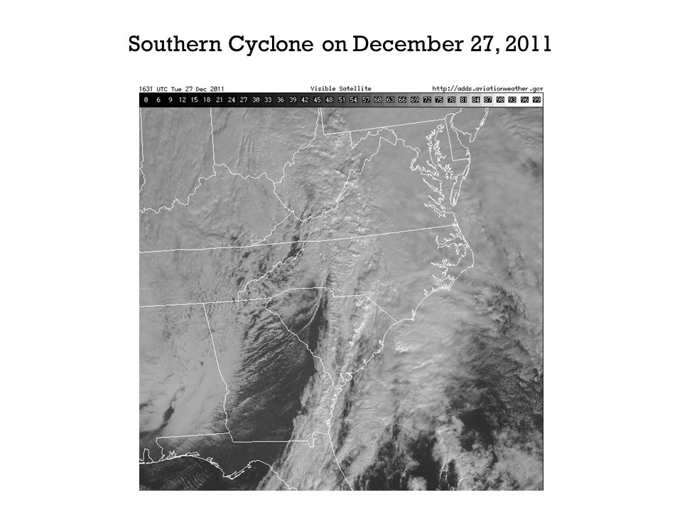 Southern Cyclone on December 27, 2011