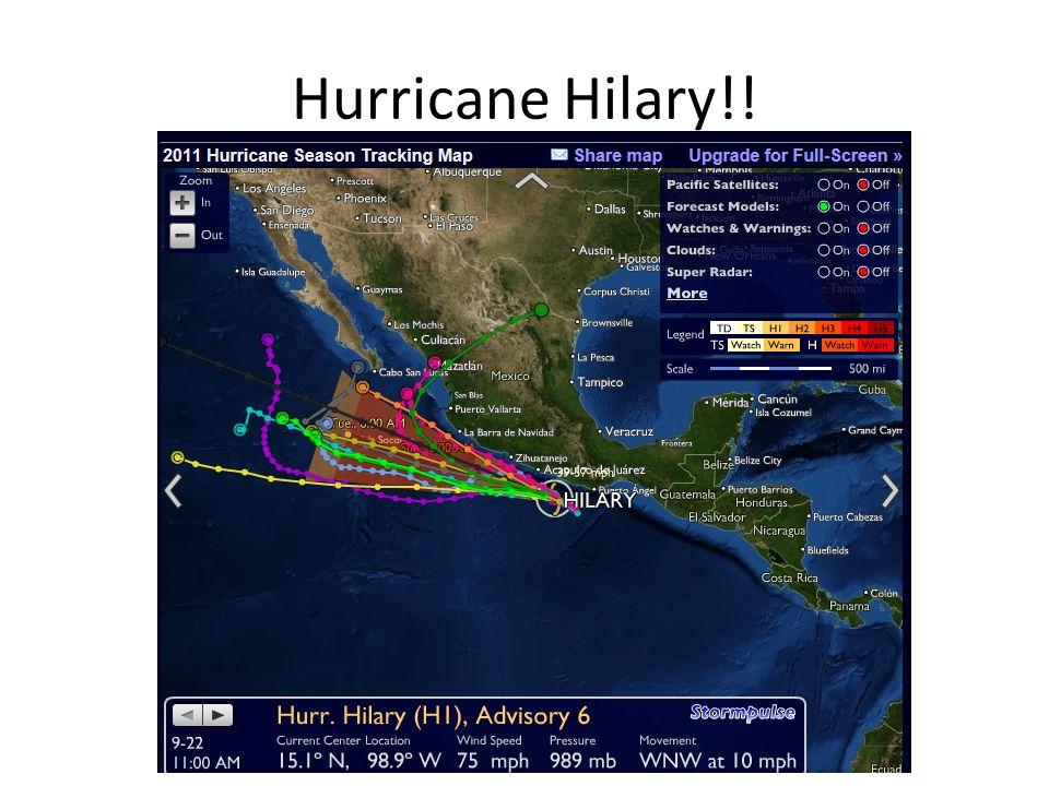Hurricane Hilary!!
