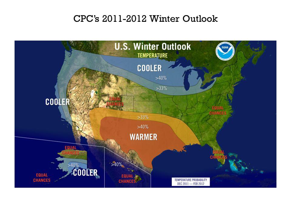 CPCs 2011-2012 Winter Outlook