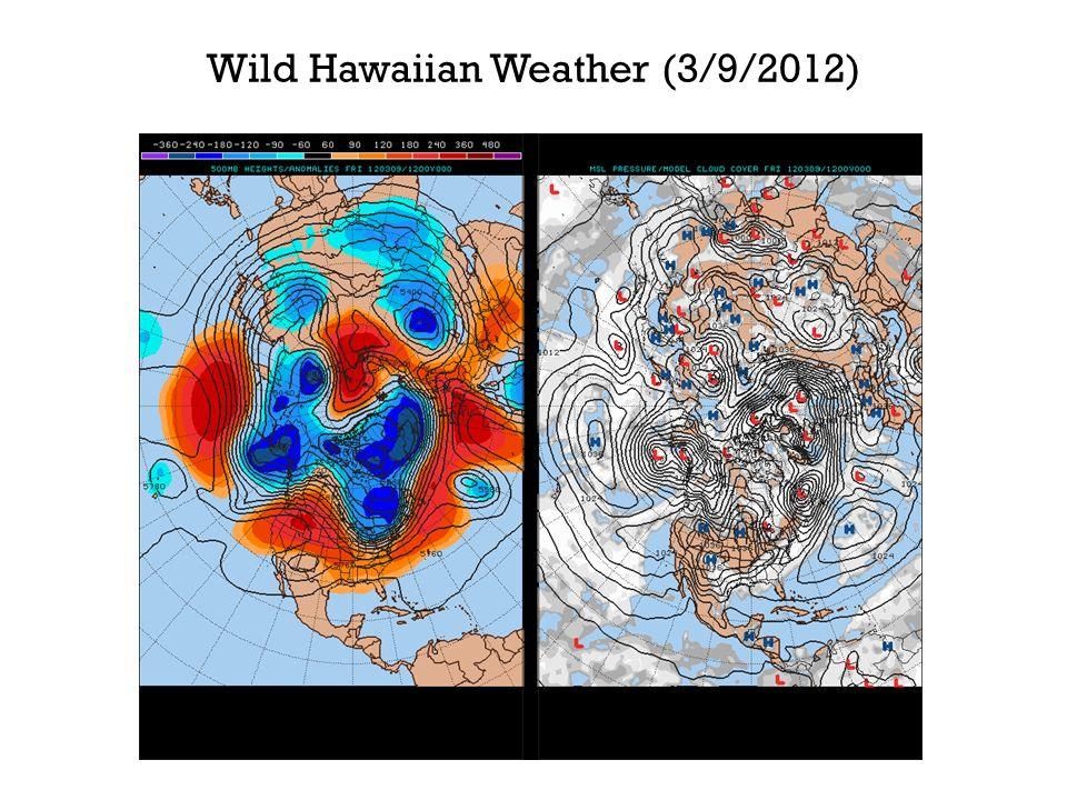 Wild Hawaiian Weather (3/9/2012)