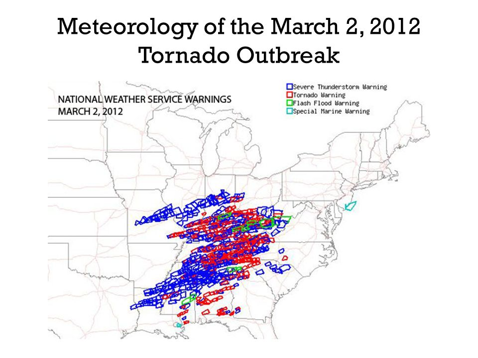 Meteorology of the March 2, 2012 Tornado Outbreak