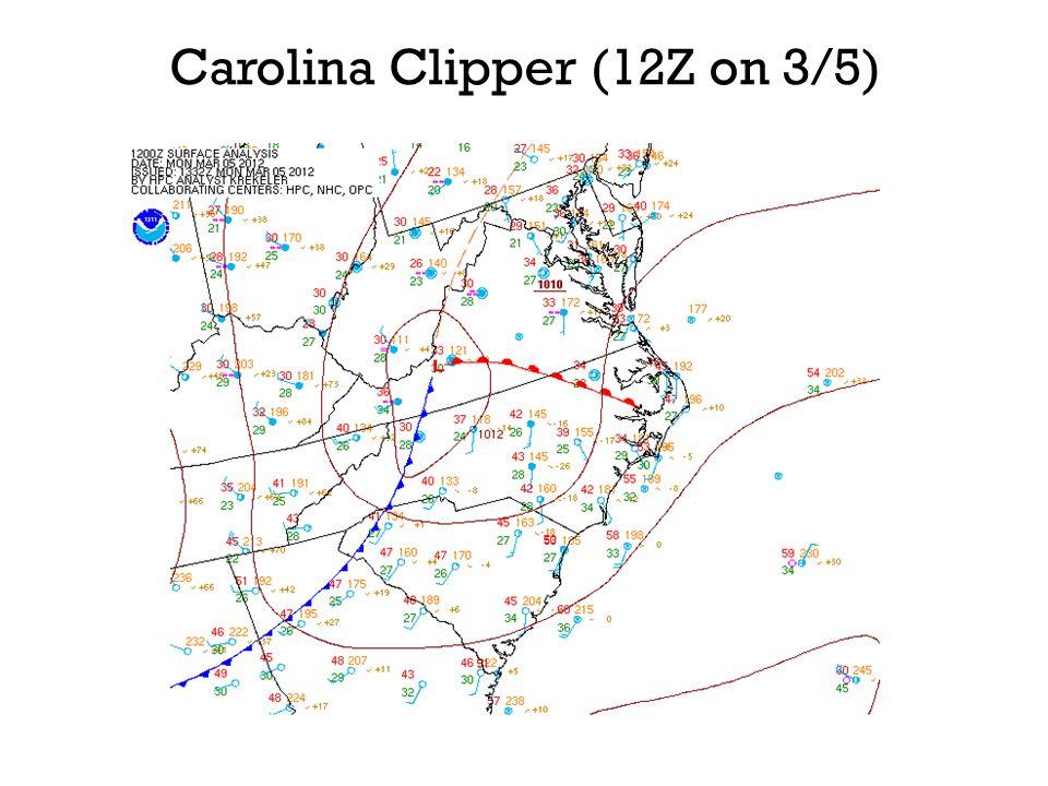 Carolina Clipper (12Z on 3/5)