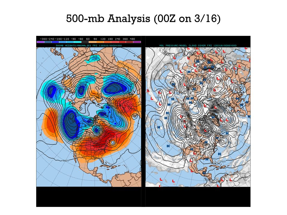 500-mb Analysis (00Z on 3/16)